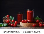 Homemade Tomato Sauce In A...