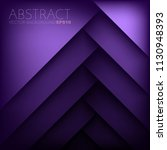 purple layer vector background... | Shutterstock .eps vector #1130948393