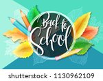 vector illustration with design ... | Shutterstock .eps vector #1130962109