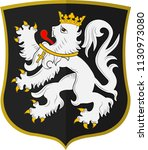 coat of arms of ghent is a city ... | Shutterstock .eps vector #1130973080