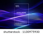 virtual reality concept. 3d... | Shutterstock .eps vector #1130975930