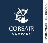 letter c corsair logo   Shutterstock .eps vector #1131007973