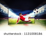 realism of sporting images... | Shutterstock . vector #1131008186