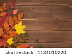Autumn Frame For Your Idea And...
