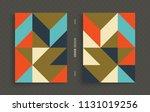 cover design template for... | Shutterstock .eps vector #1131019256