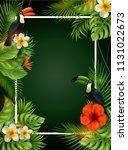 vector illustration of summer... | Shutterstock .eps vector #1131022673