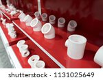 group of pvc connection on...   Shutterstock . vector #1131025649