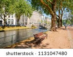 scenic park in the koenigsallee ... | Shutterstock . vector #1131047480