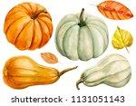 White And Orange Pumpkin ...