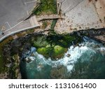 aerial view of a cliff in the... | Shutterstock . vector #1131061400