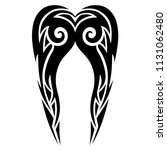 tattoos ideas swirl designs  ... | Shutterstock .eps vector #1131062480