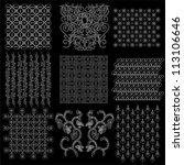 java batik pattern collection | Shutterstock .eps vector #113106646