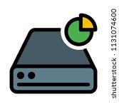 disk drive storage | Shutterstock .eps vector #1131074600