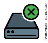 remove disk drive | Shutterstock .eps vector #1131074630