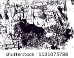 distressed background in black... | Shutterstock .eps vector #1131075788
