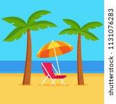 Tropical Summer Vacation Vecto...