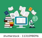 oncept of modern education.... | Shutterstock .eps vector #1131098096