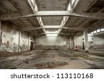 Industrial Building Interior I...