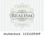 green money style emblem or... | Shutterstock .eps vector #1131109349