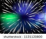 star. flying through the stars...   Shutterstock .eps vector #1131120800