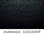 3d abstract  background | Shutterstock . vector #1131132029