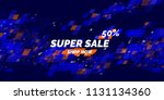 banner for sale. the original... | Shutterstock .eps vector #1131134360