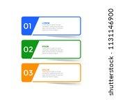 infographic design template... | Shutterstock .eps vector #1131146900