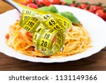 tape measure with background... | Shutterstock . vector #1131149366
