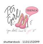 it's girl things you don't... | Shutterstock .eps vector #1131152099