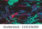 unique design abstract digital...   Shutterstock . vector #1131156203