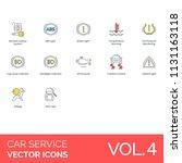 car service modern icon set....   Shutterstock .eps vector #1131163118