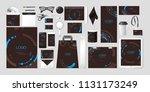 vector set kit collection... | Shutterstock .eps vector #1131173249