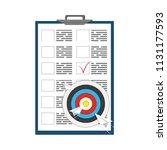 business targeting concept....   Shutterstock .eps vector #1131177593