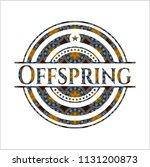 offspring arabesque emblem...   Shutterstock .eps vector #1131200873