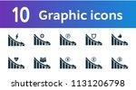 decrease graphic icons set. ui...