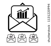 email and mail icon vector | Shutterstock .eps vector #1131220994