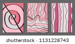 vector covers set in hand drawn ... | Shutterstock .eps vector #1131228743