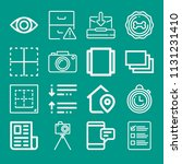 interface related set of 16...   Shutterstock .eps vector #1131231410
