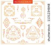 vector boho  ethnic style...   Shutterstock .eps vector #1131234848