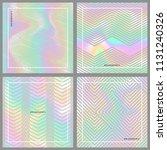 hologram gradient set...   Shutterstock .eps vector #1131240326