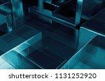 3d render abstract background.... | Shutterstock . vector #1131252920
