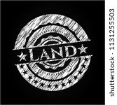 land chalkboard emblem | Shutterstock .eps vector #1131255503