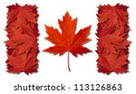 Canada Leaf Flag Made With...