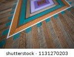 close up of wood grain texture... | Shutterstock . vector #1131270203