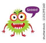 a gremlin troll cartoon... | Shutterstock .eps vector #1131295160