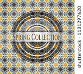 spring collection arabesque...   Shutterstock .eps vector #1131297620