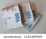 turkish lira   turkish turk... | Shutterstock . vector #1131305909