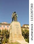 bastia  corsica  france aug. 14 ... | Shutterstock . vector #1131307283