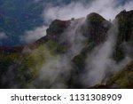 Waimea Canyon Mist On Mountain