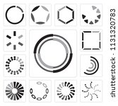 set of 13 simple editable icons ...   Shutterstock .eps vector #1131320783